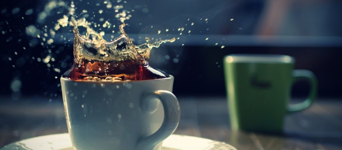 tea splash