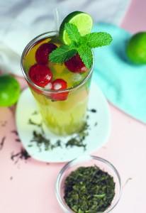 Cachaça zöld tea
