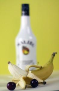 Banán smoothie kókusszal